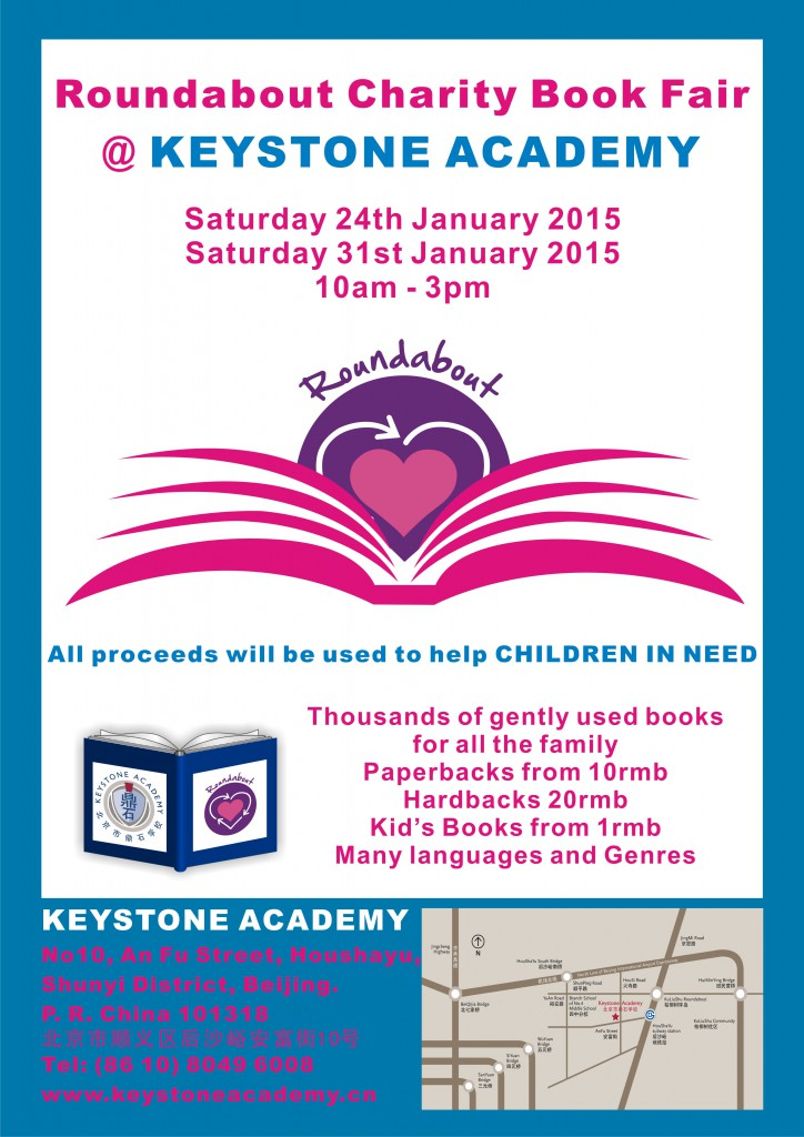 Keystone Academy Book Fair Poster