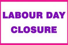 Labour day closure4