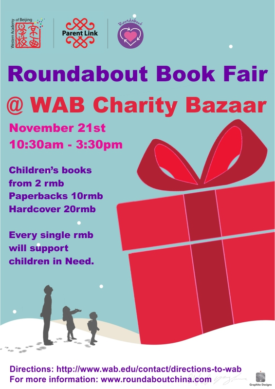 WAB book fair 2015 for newsletter