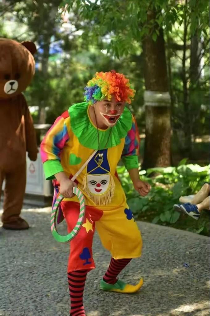 9、小丑表演